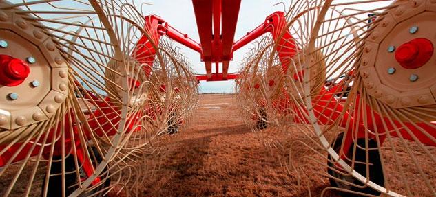 sector agrícola corte laser tubo
