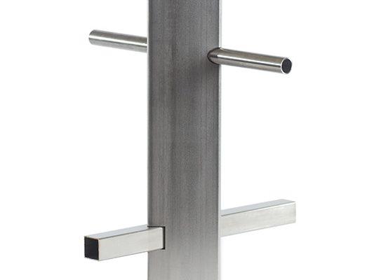 Corte láser en los cantos de un tubo de acero