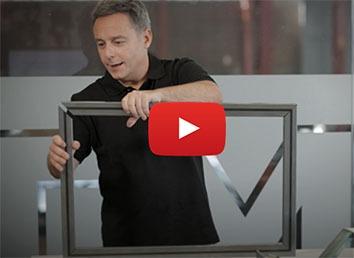 Vídeo corte láser tubo construcción de un marco
